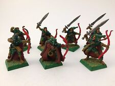 Wood Elf Waywatchers - Painted – Warhammer Wood Elves Army – OOP – Metal