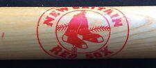 """MLB NEW BRITAIN Red Sox Souvenir Mini 18"""" Natural Wood Baseball Bat Vintage '93"""