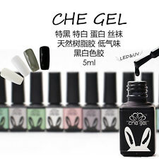 4Color CHE Translucent Gel Solid White Black Gel UV LED Soak Off Nail Art Polish