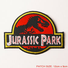 "JURASSIC PARK - Original 5"" Movie Prop Themepark Patch Full Prop Size, Excellent"