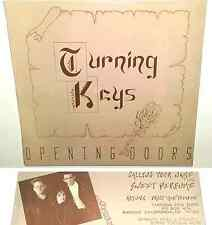 """TURNING KEYS Opening Doors SEALED PRIVATE SYNTH POP ELECTRO EP DANCE EDM 12"""" lp"""