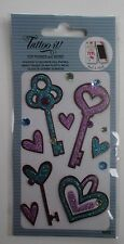 10cd TATTOO IT phone bling STICKER KEY HEART decorate kindle laptop iphone ganz