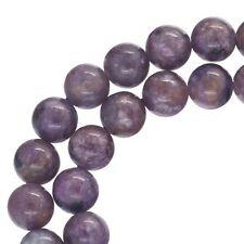 """15.6"""" Russian Charoite Round Beads 6mm #86147"""
