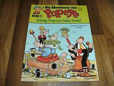 Abenteuer von POPEYE   # 7 -- König Popeye lebe hoch !! / Ehapa 1. Auflage 1978