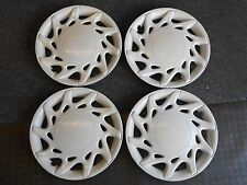 "Set of 4-1995 Dodge Neon 13"" White Hubcaps/Wheel Covers #501"