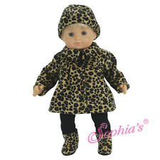 NIP- adorable faux fur coat, boots and hat by Sophia's that  fit Bitty Baby doll