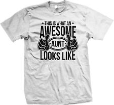 This Is What An Awesome Aunt Looks Like Family Funny  Mens T-shirt