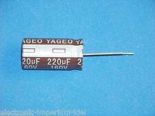 Elko, radial, 220µF (220uF) / 160V / 105°C, 2 Stk. (Ø16x32mm)