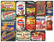 WACKY PACKAGES 3 OF 4  PHOTO-FRIDGE MAGNETS, 14 IMAGES