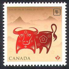 Canadá 2009 yo Buey/saludos/estacional/año nuevo 1v n24315
