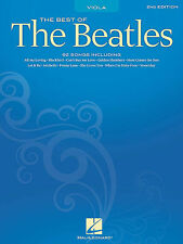 THE BEST OF THE BEATLES VIOLA SHEET MUSIC SONG BOOK NEW