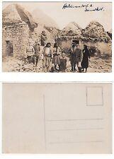 Syrien Syria,Damaskus Damas Deutsche Soldaten in Beduin village  RPPC WWI um1918