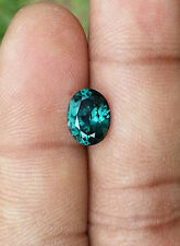 Stunning Blue Green Spinel 2.19 CT / Oval  /100% Clean /Top luster /Unheated