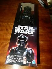 Star Wars The Force Awakens Tie The Fighter Pilot Figurine (Boxed)