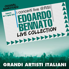 "EDOARDO BENNATO  ""LIVE COLLECTION@RSI""  (CD+DVD)"