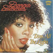 "Donna Summer - Dim All The Lights (7"" Casablanca Vinyl-Single Germany 1979)"