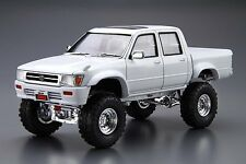 Aoshima 50972 1/24 Toyota LN107 HILUX DOUBLE CAB LIFT-UP 4WD '97 from Japan Rare