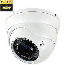 Ture 1080P HDAHD Sony CMOS CCD 2.6MP Analog 4 in 1  Dome Security Camera System