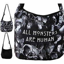 American Horror Story All Monsters Are Human Evan Peters Collage Hobo Bag Purse