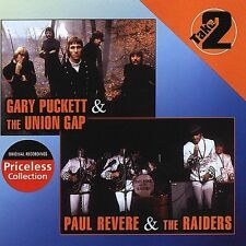 PAUL REVERE & THE RAIDERS & GARY PUCKETT & THE UNION GAP SEALED CD- 10 SONGS