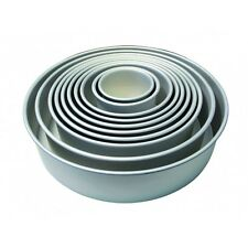 "PME Round Circle Cake Decorating Decoration Baking Tin Pan Tray 8 x 4 "" Inch"
