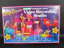 1985 Arco POP STAR Barbie Jem Fashion Doll VIDEO RECORDING STUDIO #7790