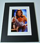 Kathleen Turner Signed Autograph 10x8 photo mount display Film TV Actress & COA