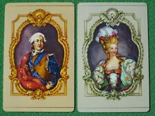King Louis XVI of France & Marie Antoinette Vintage Playing Cards MINT Condition