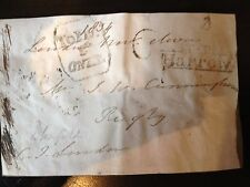 CHARLES JAMES BLOMFIELD - CHURCH OF ENGLAND BISHOP -  SIGNED ENVELOPE FRONT