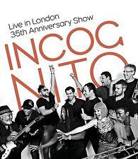 INCOGNITO - LIVE IN LONDON-35TH ANNIVERSARY SHOW  DVD NEU
