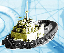 MODEL BOAT PLANS 1:48 SCALE R/C TUG FULL SIZE PRINTED PLAN & BUILDING NOTES
