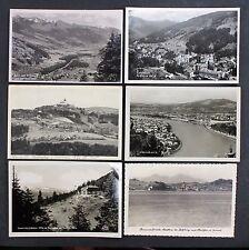 6 Postkarten AK - Österreich Hofgastein Linz Dachstein See Salzburg  (Lot-I-5072