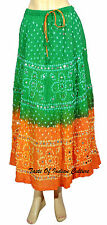 Designer Bollywood Skirt Belly Dance Tie & Dye Traditional Trible Skirt Indian