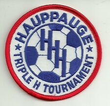 Hauppauge New York Soccer Club Triple H Tournament Soccer Club Embroidered Patch