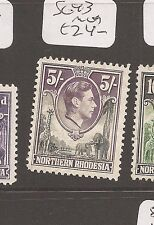 Northern Rhodesia KGVI Animals SG 43 MOG (9dai)