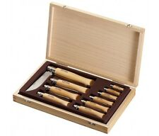 SUPERBE COFFRET COLLECTION DE 10 COUTEAUX OPINEL INOX PRIX IMBATTABLE