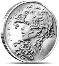 Silver Bullet Silver Shield SBSS Freedom Girl 2013 1 oz .999 Silver Round