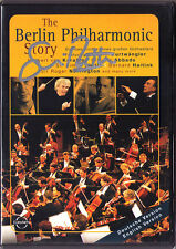 DVD Simon RATTLE Signed THE BERLIN PHILHARMONIC STORY Abbado Karajan Furtwängler
