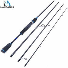 "6'9"" Spinning Rod Graphite Fishing Rod 4Pieces saltwater Rod"