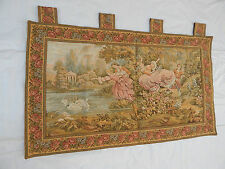 Vintage French Beautiful Romantic Scene Tapestry 102x60cm T388