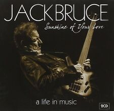 JACK/CREAM/BBM BRUCE - SUNSHINE OF YOUR LOVE: A LIFE IN MUSIC 2 CD NEU
