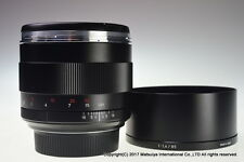 Carl Zeiss Planar T * 85mm f/1.4 ZE for Canon Excellent+