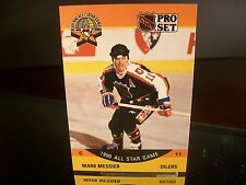 Mark Messier Pro Set 1990 Card #349 All-Star Game Edmonton Oilers NHL Hockey