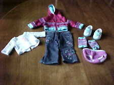 AMERICAN GIRL DOLL COSTUME READY FOR FUN OUTFIT FOR DOLL 2004 RETIRED 8 PCS.