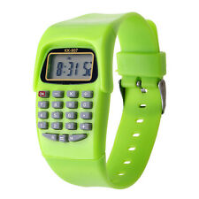 Fashion Design Calculating Watch Digital Calculator with LED Light Watch gift
