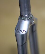 Alan frame Race bike Fork Alloy/190 mm/Silver Lightweight bicicleta de carreras horquilla 28""