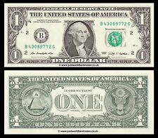 United States USA 1 Dollar 2009 P-530 Series B (New York)  UNC