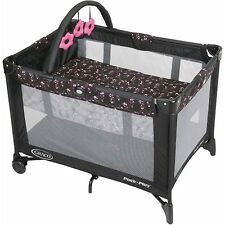 Graco Pack 'N Play with Automatic Folding Feet Playard Priscilla New Play Pen