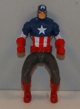 """2011 Captain America Riding Position 3.75"""" Action Figure Avengers Marvel Comics"""