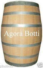 Botte/Barrique in Rovere 225 lt PER VINO BIANCO